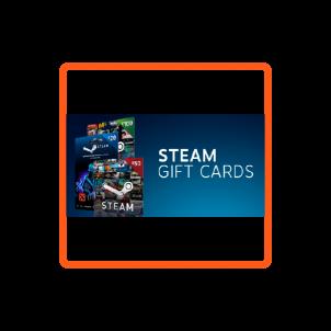Steam Gift Kartları
